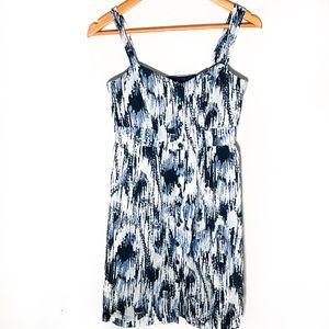 LOFT blue summer dress